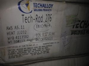 回收Techalloy Tech--rod276型号焊条